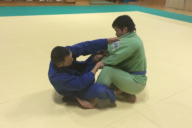 成田でグレイシー柔術
