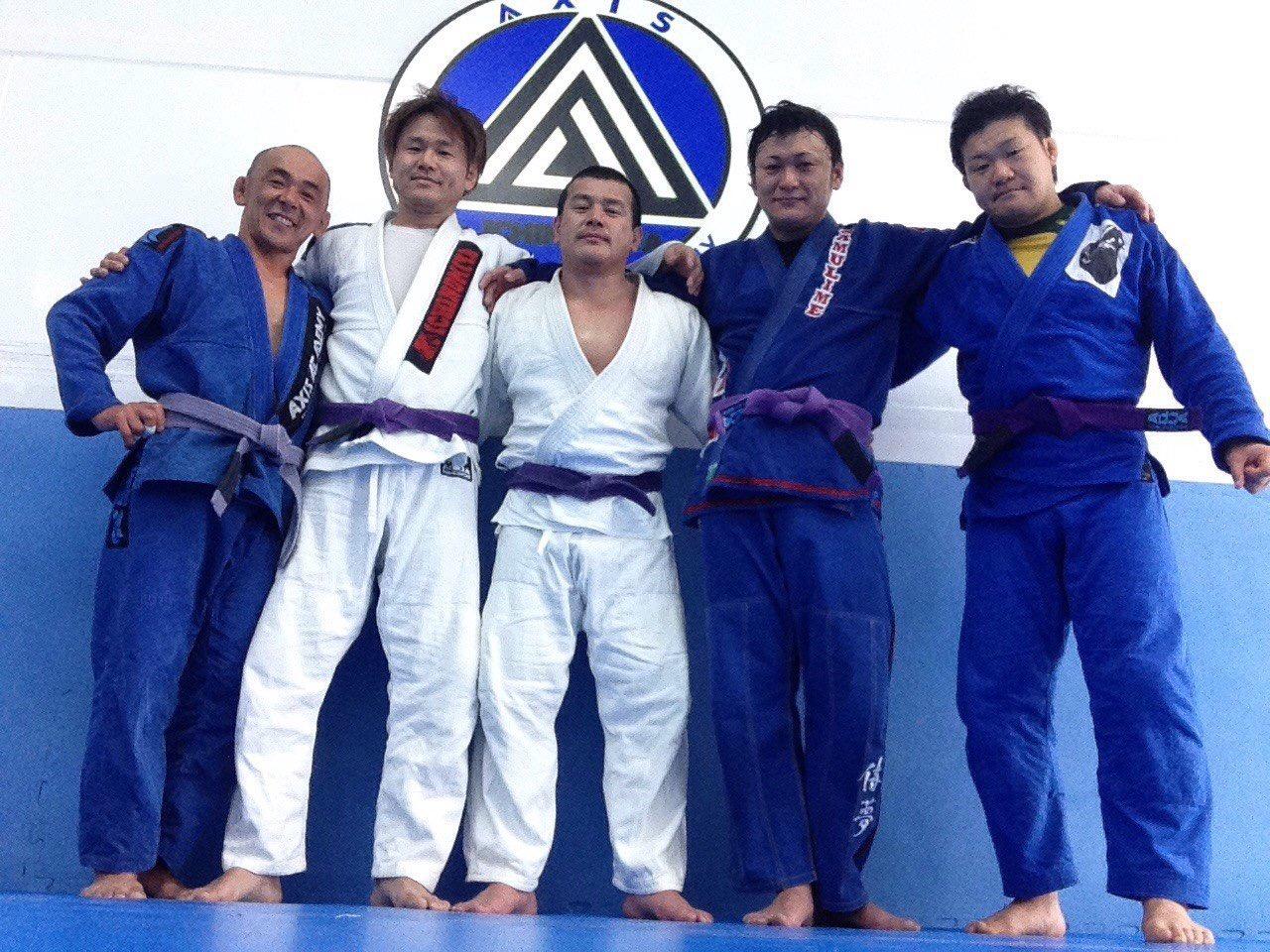 5人の紫帯が集結!